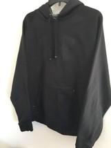 Under Armour Black Hoodie Sweatshirt Yellow lettering Pullover Men's Sz L - $38.00