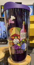 Disney Parks Epcot Figment Food and Wine Festival 2021 Passholder  Tervis Cup Tu - $36.90