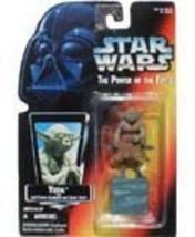 Star Wars Power of the Force Yoda Red Card Action Figure - $12.69