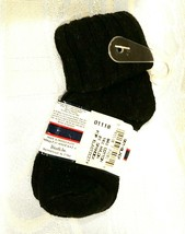 NWT Sock Boy Clothing Accessory Size 4-5 1/2 Shoe Size 2 1/2-5 1/2 Black... - $7.70