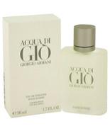 New ACQUA DI GIO by Giorgio Armani Eau De Toilette Spray 1.7 oz for Men ... - $63.72