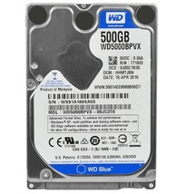 Western Digital Blue 500GB SATA/600 5400RPM 8MB 2.5Hard Drive - $49.57