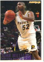 1994-95 Fleer NBA Basketball Trading Card - John Williams #297 Indiana Pacers - $1.97