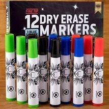 Dry Erase Markers Whiteboard Marker Pens Set Fine Point for Kids School Erasable - $21.86
