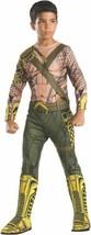 New Aquaman Kids Halloween Costume By Rubies Childrens Large Dc Comics Superhero - $19.62