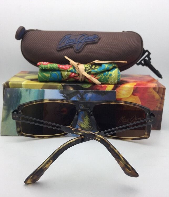 Polarized MAUI JIM Sunglasses POKOWAI ARCH MJ 439-15T Tortoise w/HCL Bronze Lens
