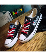 New England Patriots shoes Patriots sneakers Fashion Christmas gift birt... - $55.00+