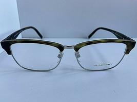 New BURBERRY 2238-D 3629 55mm Tortoise Silver Clubmaster Men's Eyeglasses Frame - $189.99