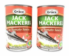 Grace Jack Mackerel in Tomato Sauce (2 Pack, Total of 850g) - $15.79