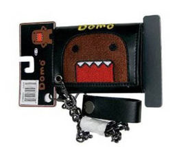 Domo-Kun: Domo Face Wallet with Chain Brand NEW! - $49.99