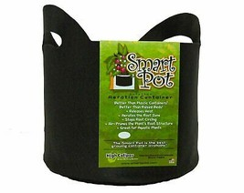 Smart Pots 5-Gallon Soft-Sided Container, Black with Cut Handles - $23.98+