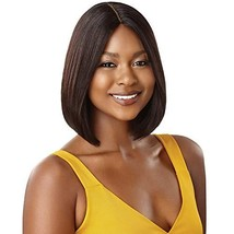Outre Unprocessed Human Hair Wig The Daily Lace Part Wig Straight Bob Natural Bl