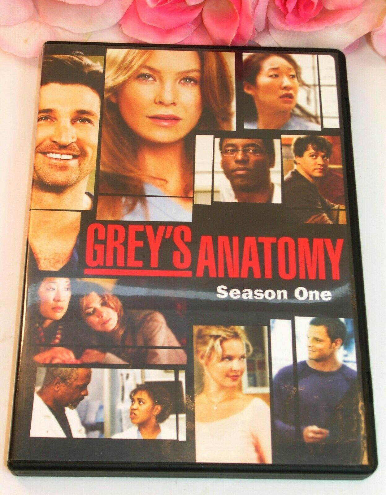 Primary image for Greys Anatomy Complete Season 1 TV Series Medical Drama Gently Used DVD's