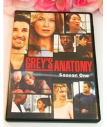 Greys Anatomy Complete Season 1 TV Series Medical Drama Gently Used DVD's - $19.99