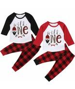 Tops Plaid Pants Kids Boys 2pcs Set Baby Clothes Outfit Party Toddler Ca... - $16.74+