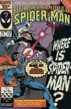 The Spectacular Spider-Man #117 VF 1986 Marvel Dr Strange vs Black Cat - $3.95