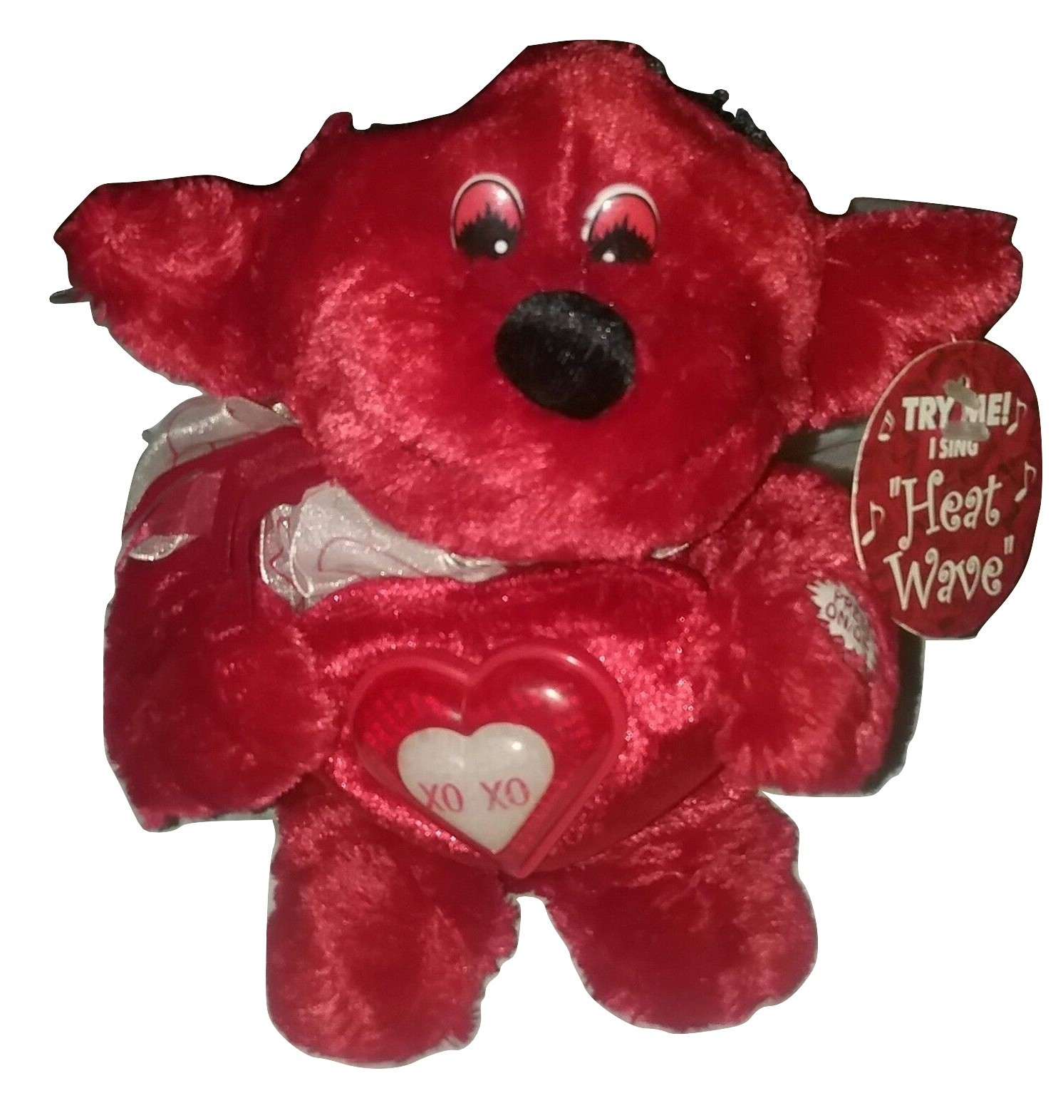 f22a34915f6a2 Dan Dee Collectors Choice Red Devil Plush Sings and Light UP (Heat Wave ) -  £10.05 GBP