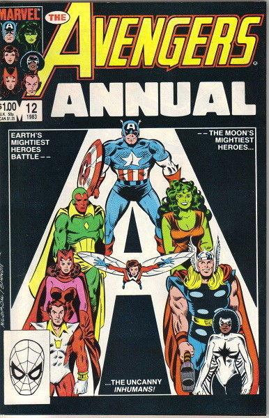 The Avengers Annual Comic #12 Marvel Comics 1983 VERY FINE NEW UNREAD
