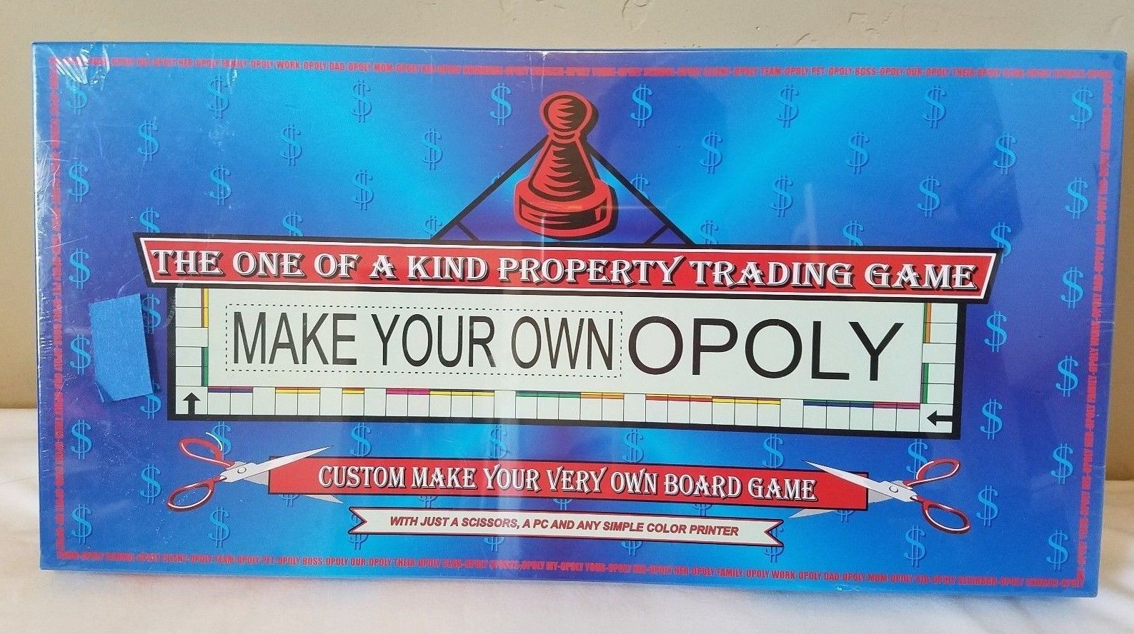 Make Your Own Opoly Custom Monopoly Board And 24 Similar Items