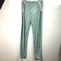 Nanette lepore pants floral lace pound pj womens L - $19.31
