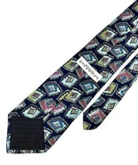 New GIVENCHY Monsieur TIE Blue, Green Silk Men's Neck Tie DESIGNER - $8.95