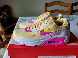 WOMEN'S AIR MAX 90 - Pink/Yellow/White - $179.99