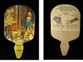 Tums Advertising Premium Cardboard Fan Vintage - $16.99