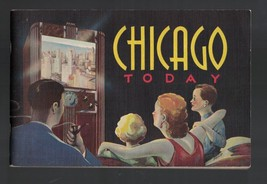 Chicago Today Booklet 1947 Buildings Parks Airports  - $14.04