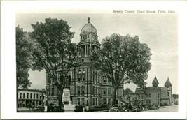 Vtg Postale Cppr 1940s - Seneca Comté Palais de Justice - Repas Ohio Oh - - $55.81