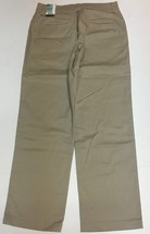 Lee Relaxed Fit Stretch Beige Pants Sz 10 Short Straight Leg NWT image 9