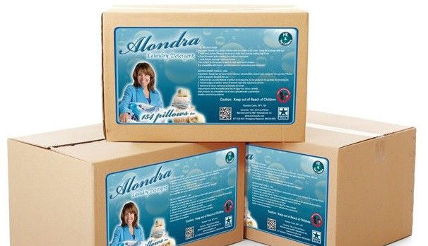 """200 Loads of High Eficiency Alondra Powder Laundry Pillows - """"Detergent Pods"""""""