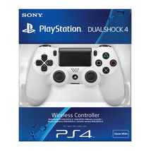 New Official Sony PlayStation 4 PS4 Dualshock 4 Wireless Controller White - $78.99