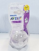 Pack of 4 Philips Avent Natural Newborn Flow Nipples 0m+ - $19.05