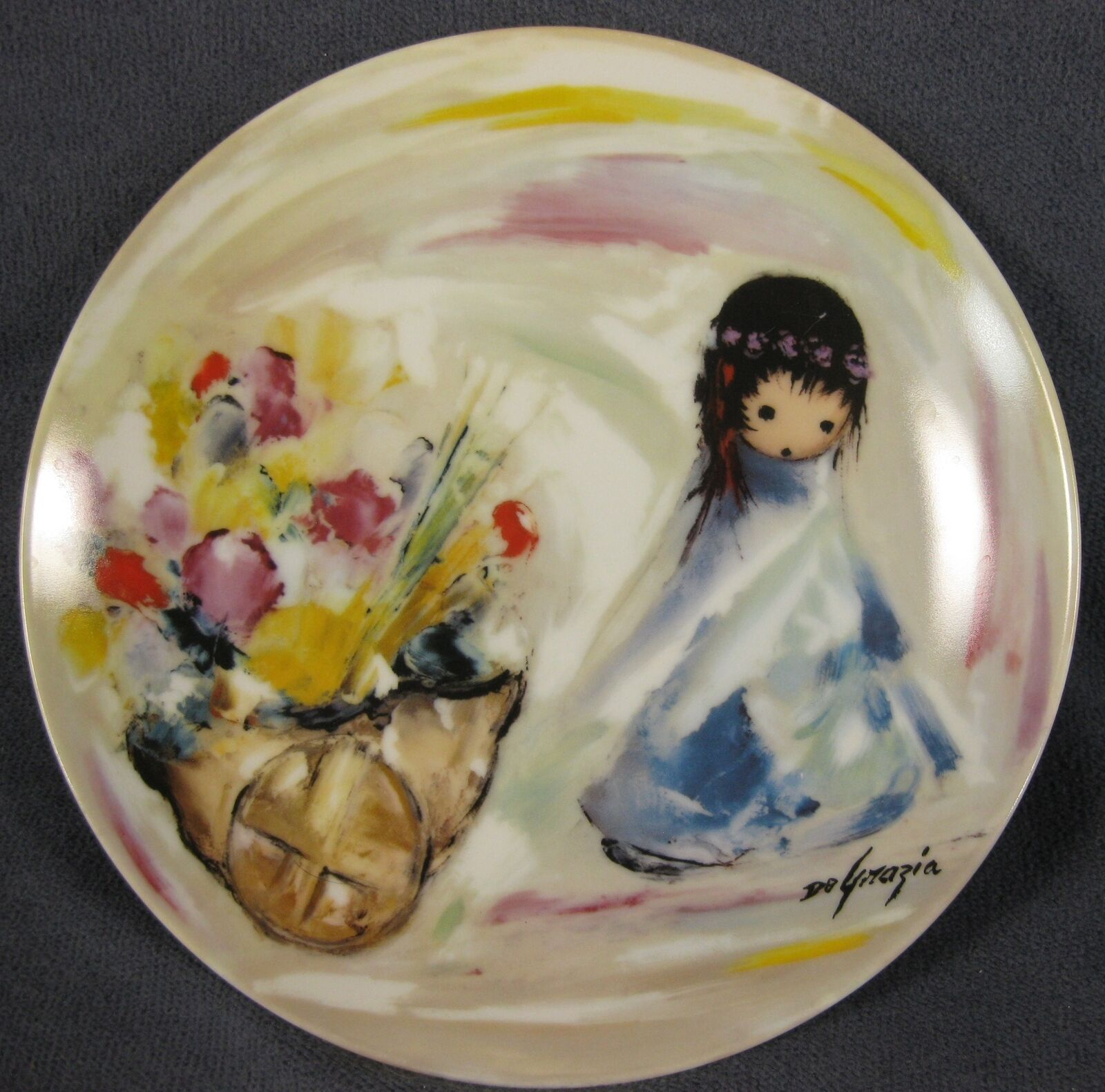 Gifts From The Sun Collector Plate Children Of The Sun Ettore Ted DeGrazia 1988