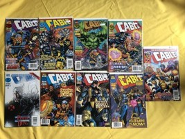 Lot of 9 Cable (1993 1st Series) #32-37 40 41 45 NM Near Mint - $19.80