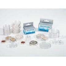 Pack of 10 Lighthouse Round 24mm Inner Diameter Coin Capsules US Quarter... - $8.58