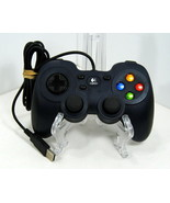 Logitech Dual Action GamePad F-310 Controller Blue For Parts Only #046d-... - $9.95