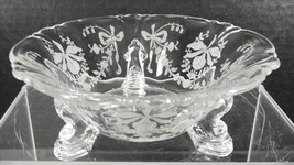 Antique Heisey Mint Dish * Orchid Pattern - $7.98