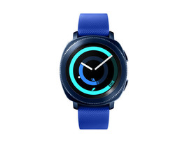 2017 Samsung Gear Sport SM-R600 Smart Fitness Watch Bluetooth - Blue image 1