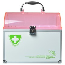 Organizer Home Kit Storage Box Multilayer Medical Kid Lack First-aid - $47.59 CAD