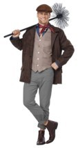 California Costumes Chimney Sweep Adult Mens Plus Christmas Xmas Costume... - $61.65