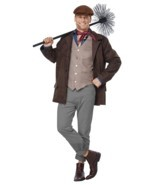 California Costumes Chimney Sweep Adult Mens Plus Christmas Xmas Costume... - €42,58 EUR
