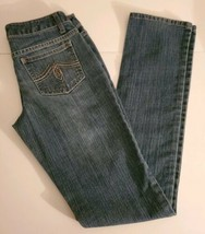 Womens jeans size 1 Average,So. Blue. Inseam 31. Jeans para Mujer Size 1x31 - $12.86