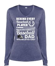 Behind Every Baseball Player T Shirt, Baseball Dad T Shirt, Cool Shirt (... - $29.99+