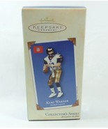 Hallmark 2002 NIB Football Legends #8 Kurt Warner St Louis Rams NFL Orna... - $14.95