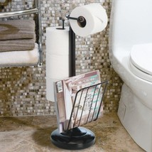 Free Standing Toilet Paper Holder Bathroom Tiss... - $108.97