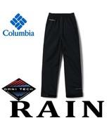 YOUTH COLUMBIA PARKER POND PANTS TRAIL ADVENTURE WATERPROOF RAIN PANTS OMNI-TECH - $31.55 - $32.25