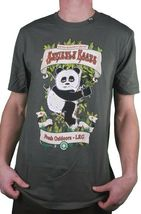 LRG Strictly Roots Weed Joint Smoking Panda Dark Olive Black or White T-Shirt NW image 6