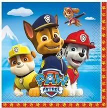 Paw Patrol 16 Ct Beverage Napkins Nickelodeon Pups Dogs - $3.65