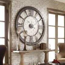 Restoration Hardware Style Oversized Farmhouse Wall Clock - $494.01